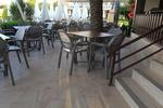 Пластмасови столове с ниска цена за лятно заведение