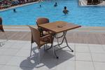 Пластмасови столове с ниска цена за хотели