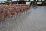 Пластмасови столове с ниска цена, с различни цветове