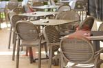 Пластмасови столове на промоция, за градината