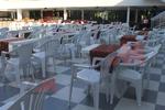 Градински столове за хотел, пластмаса