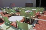 Пластмасови столове с ниска цена, за басейн