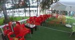 Пластмасови столове червени промоция