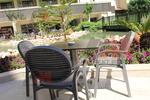 Пластмасов стол за кафене, за бар