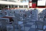 Пластмасови здрави столове, с различни цветове