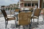 метален стол за външно ползване за външно и вътрешно ползване