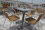 Здрави метални столове за плажове