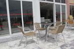 Метални столове,подходящи и за ресторанти