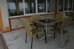Устойчиви столове от метал за басейни
