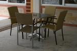 метален стол за ресторант за външно и вътрешно ползване