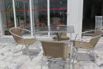 Евтини градински столове от метал