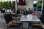 Метални столове за кафене с различни седалки