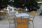 Устойчиви метални столове за басейн