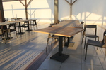 Дизайнерски бази за маса за заведение