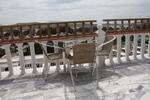 метални мебели-столове за плаж за вътрешна и външна употреба