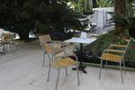Столове от метал за плаж за външно ползване