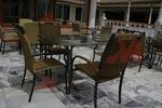 Универсален стол от метал за плаж за вътрешно и външно използване
