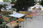 Столове от метал за плаж