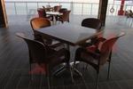 Основи за маса от неръждаема стомана за хотел