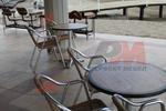 Основи за маса от неръждаема стомана за кафене