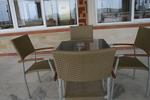 метален стол за басейн за външно и вътрешно ползване