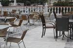 Метални столове за басейни