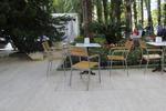 Столове от метал за басейни за външно ползване