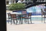 метални мебели-столове за басейни за вътрешна и външна употреба
