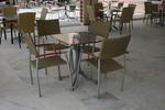 Метален стол за заведения