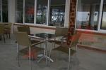 Здрав метален стол за кафене