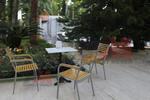 Метален стол за кафене