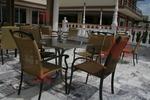 Столове,произведени от метал за външно ползване,различни модели