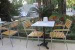 Външни метални столове за хотели