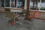 Устойчиви метални столове,подходящи и за навън
