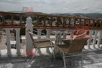 Здрави метални столове за открито