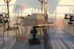 Дизайнерски бази за маси за хотели
