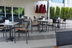 метален стол за лятно заведение за външно и вътрешно ползване