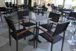 Стилна основа за маса за хотел
