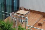 Дизайнерска база за маса за външно ползване