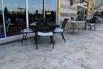 Дизайнерски стойки за маса за кафене