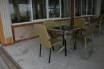 Метален стол за открито заведение