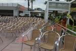 Алуминиеви столове за ресторант,подходящи и за навън