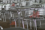 Метална алуминиева маса за заведения