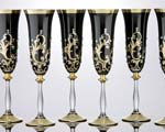 Кристални чаши за вино 6 бр - комплект 12