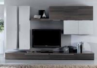 ТВ секция- в бяло и зебрано