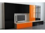 Секция от пдч в оранжево и черно