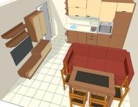 Мебели за хол по поръчка за  София фирма