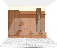 Модулни мебели за дневна стая поръчкови за  София вносител
