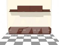 Модулна мебелировка за дневна по поръчка за  София цени