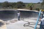 Изчистване на машини с пясъкоструйка